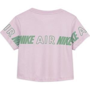 Nsw Tee Crop Nike Air Taping Çocuk Kırmızı Tenis Tişört CZ1249-676
