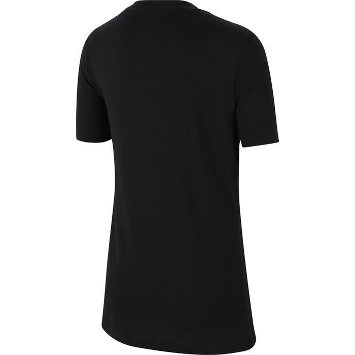 Tee Air Çocuk Siyah Tenis Tişört CZ1828-010 1212309