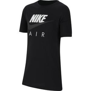Tee Air Çocuk Siyah Tenis Tişört CZ1828-010