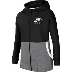 Nsw Air Ft Fz Hoodie Çocuk Siyah Tenis Sweatshirt CU8302-010
