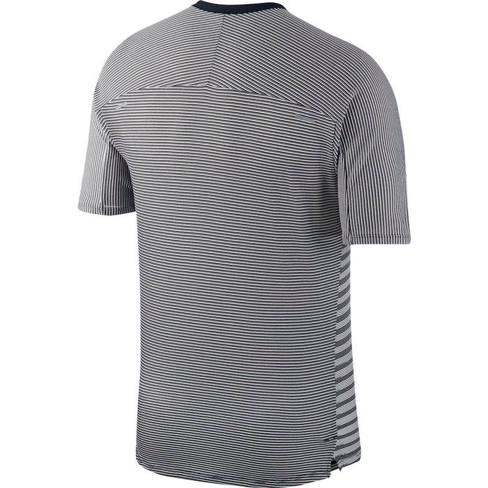 Techknit Top Ss Ff Erkek Siyah Koşu Tişört CU6056-010 1212853