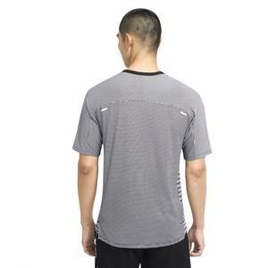 Techknit Top Ss Ff Erkek Siyah Koşu Tişört CU6056-010