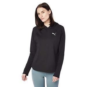 Active Hoody Kadın Siyah Günlük Sweatshirt 85177501