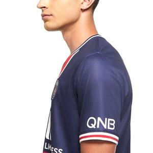 Paris Saint Germain Brt Stad Jsy Ss Hm Erkek Mavi Futbol Tişört CD4242-411