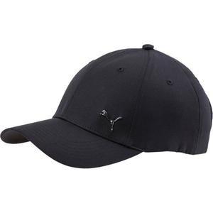 Metal Cat Cap Unisex Siyah Günlük Şapka 02126901
