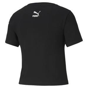 Tfs Graphic Crop Top Kadın Siyah Tişört 59625801