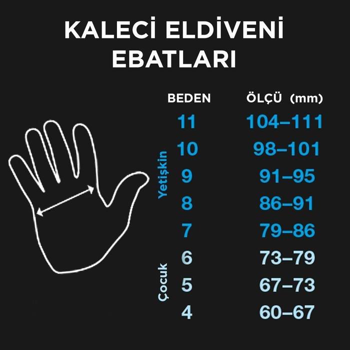 Grande Unisex Turuncu Futbol Kaleci Eldiveni SPT-KE107 995067