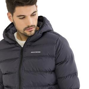Mid Filled Jacket Erkek Gri Günlük Stil Ceket S192069-035