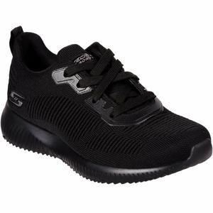 Bobs Squad - Tough Talk Kadın Siyah Günlük Ayakkabı 32504 BBK