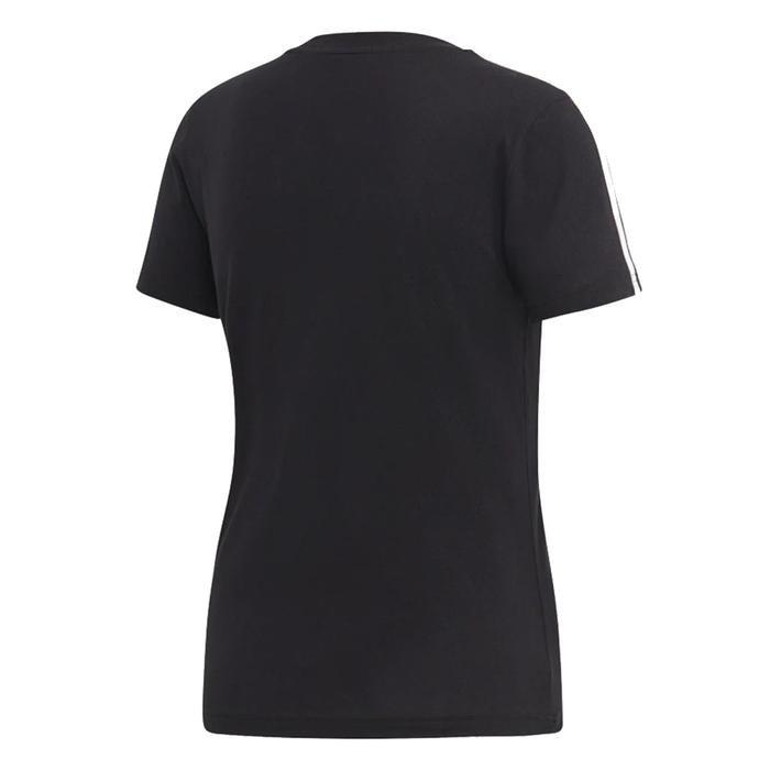 E 3S Slim Tee Kadın Siyah Günlük Stil Tişört DP2362 1115169