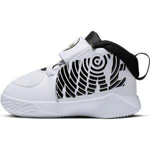 Team Hustle D 9 Td Unisex Beyaz Basketbol Ayakkabısı AQ4226-100