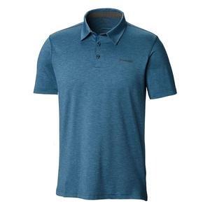 Tech Trail Erkek Mavi Outdoor Polo Tişört AO2933-437