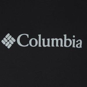 Csc Basic Logo Erkek Siyah Outdoor Tişört CS0001-010