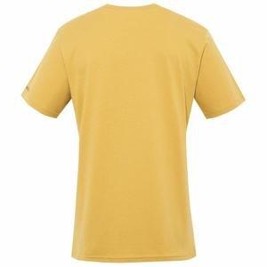 Live Wild Erkek Sarı Outdoor Tişört CS0004-718