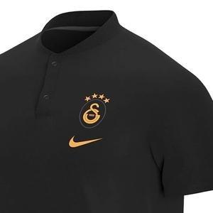 Galatasaray Modern Gsp Aut Erkek Siyah Futbol Polo Tişört CK9306-010