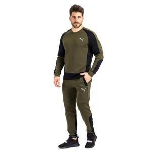 Evostripe Crew Erkek Yeşil Günlük Sweatshirt 58346470