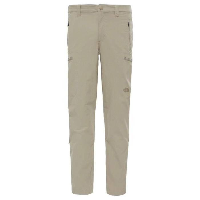 Exploration Long Fit Erkek Bej Outdoor Pantolon NF00CL9R2541 1190399