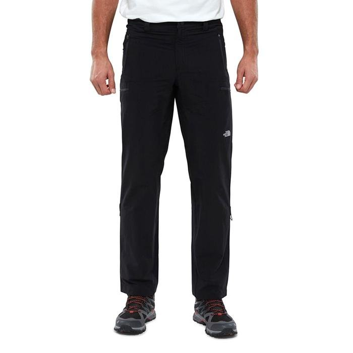 Exploration Long Fit Erkek Siyah Outdoor Pantolon NF00CL9RJK31 1190406