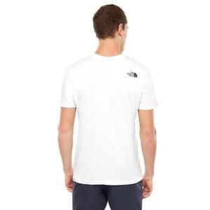 S-S Simple Dome Tee Erkek Beyaz Outdoor Tişört NF0A2TX5FN41