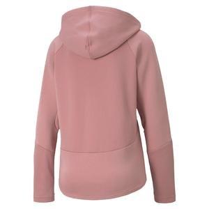 Evostripe Full-Zip Kadın Pembe Günlük Sweatshirt 58353216