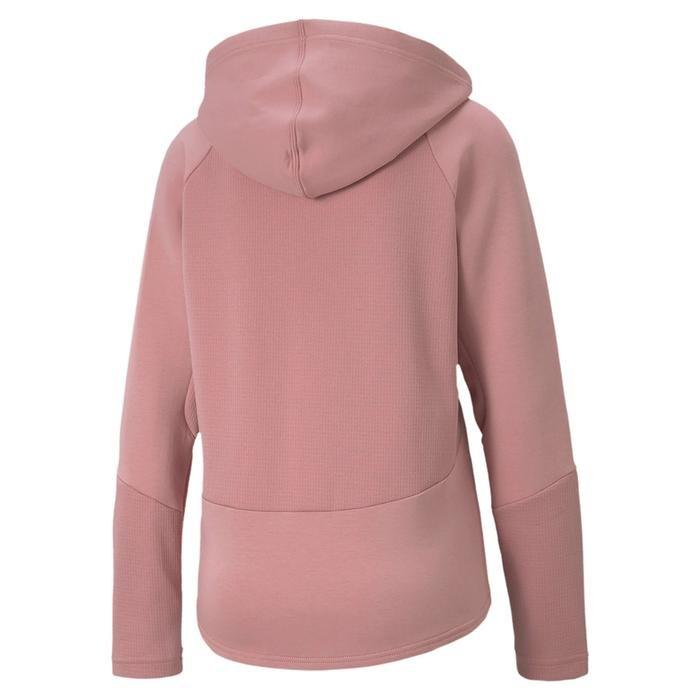 Evostripe Full-Zip Kadın Pembe Günlük Sweatshirt 58353216 1214706