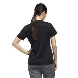 W D2M Solid T Kadın Siyah Antrenman Tişört FL3625