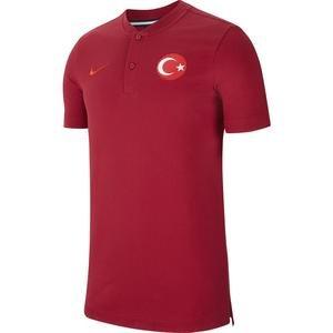 Türkiye 2020 Milli Takım Erkek Kırmızı Polo Tişört CK9206-618