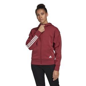 W 3S Dk Hoodie Kadın Kırmızı Günlük Stil Ceket GC6950