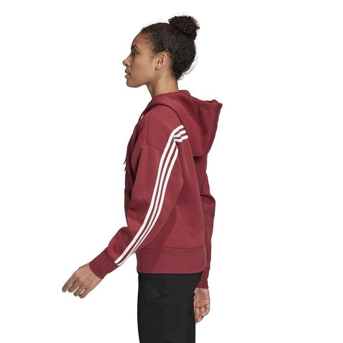 W 3S Dk Hoodie Kadın Kırmızı Günlük Stil Ceket GC6950 1223885