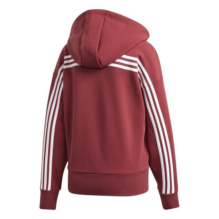 W 3S Dk Hoodie Kadın Kırmızı Günlük Stil Ceket GC6950 1223888