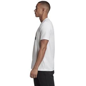 Universal Bos Erkek Beyaz Günlük Stil Tişört GE4708