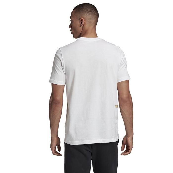 Universal Bos Erkek Beyaz Günlük Stil Tişört GE4708 1224235