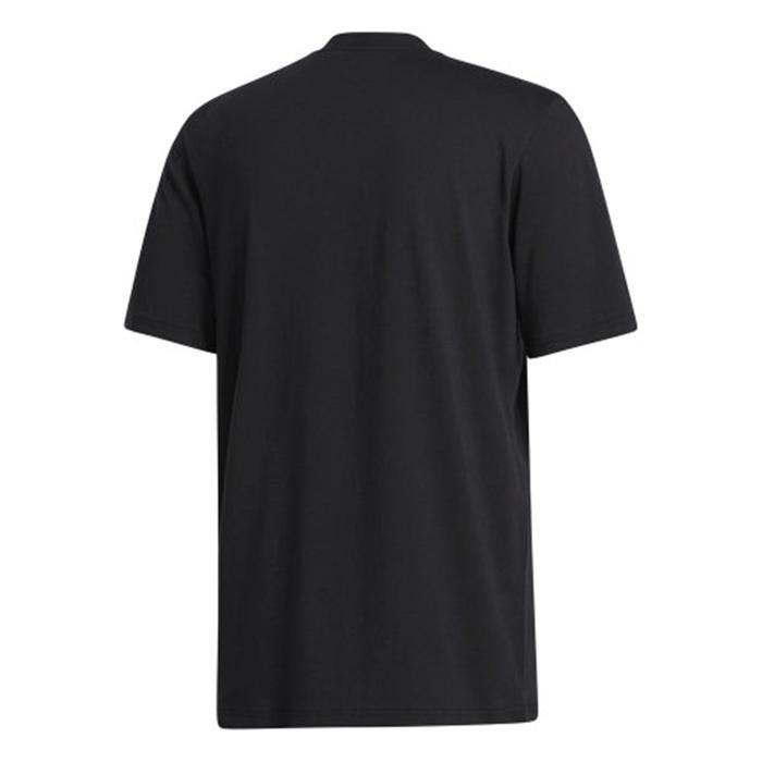 Unv ia Ss Erkek Siyah Günlük Stil Tişört GM4845 1224342