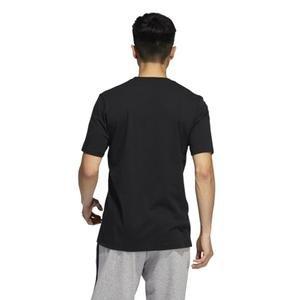 Unv ia Ss Erkek Siyah Günlük Stil Tişört GM4845