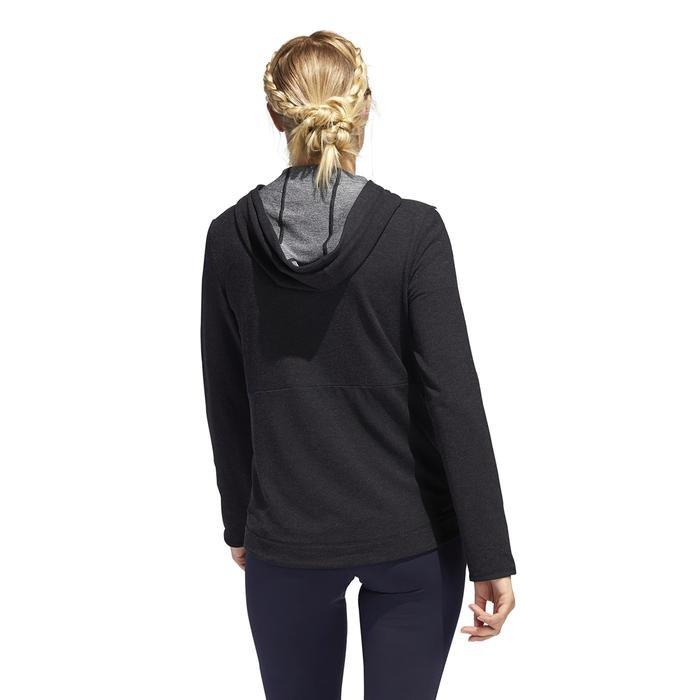 3S Knt Fz Hoody Kadın Siyah Antrenman Sweatshirt FJ7316 1222704