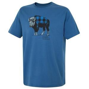 Check The Buffalo Erkek Mavi Outdoor Tişört CS0011-433