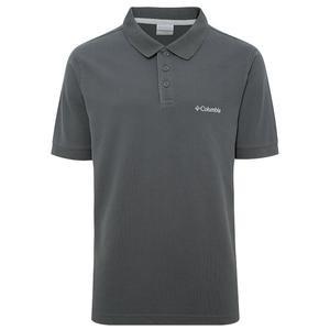M Cascade Range Solid Erkek Siyah Outdoor Polo Tişört CS0084-011