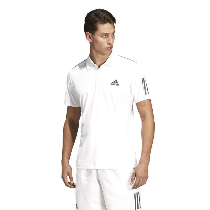 Club 3Str Polo Erkek Beyaz Tenis Polo Tişört DU0849 1221842