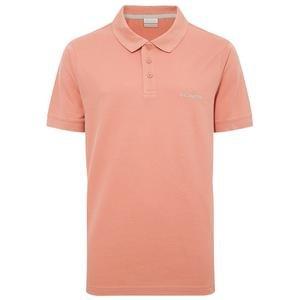 M Cascade Range Solid Erkek Kırmızı Outdoor Polo Tişört CS0084-639