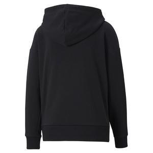 Classics Logo Hoody Regular Fit Kadın Siyah Günlük Sweatshirt 59763851