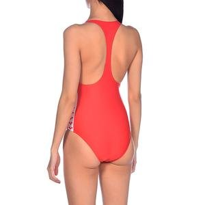 W Team Fit Racer Back One Piece Kadın Kırmızı Yüzücü Mayo 001610450