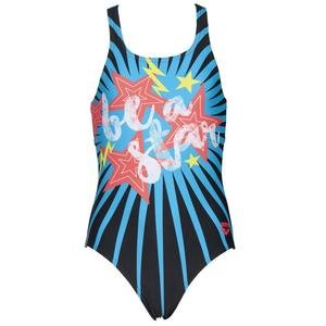 G Vibes Jr Swim Pro One Piece L Çocuk Siyah Yüzücü Mayo 002881580