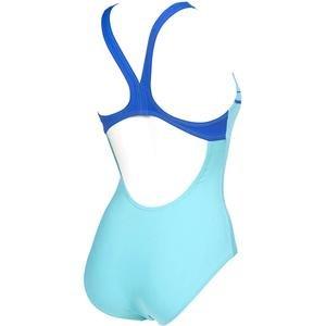 W Essentials Swim Pro Back One Piece Lb Kadın Mavi Yüzücü Mayo 002543880