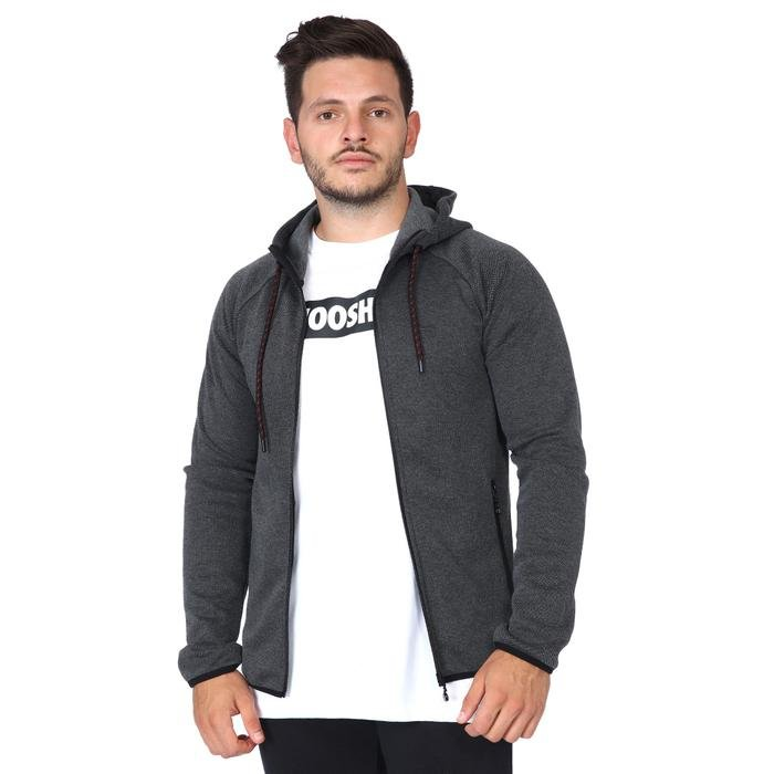 Spo-Mandoksweat Erkek Antrasit Günlük Stil Sweatshirt 711399-ANT 1170900