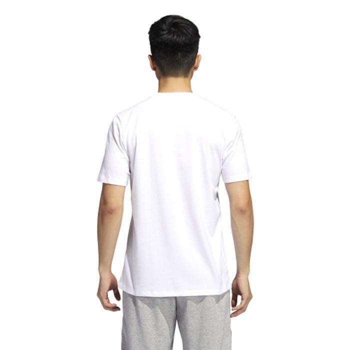 Unv ia Ss Erkek Beyaz Günlük Stil Tişört GM4844 1224339