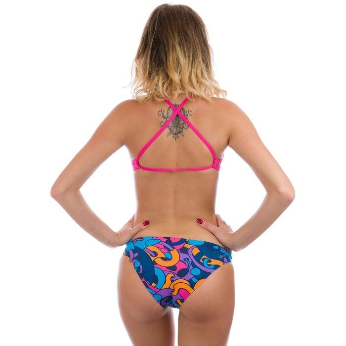 Cores Kız Çocuk Mavi-Pembe-Turuncu Bikini 2A05289 753613