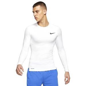 Pro Erkek Beyaz Futbol Uzun Kollu Tişört BV5588-100