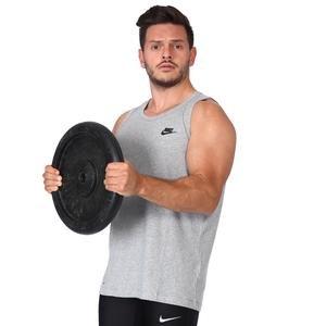 Nsw Club Tank Erkek Gri Günlük Stil Atlet BQ1260-063