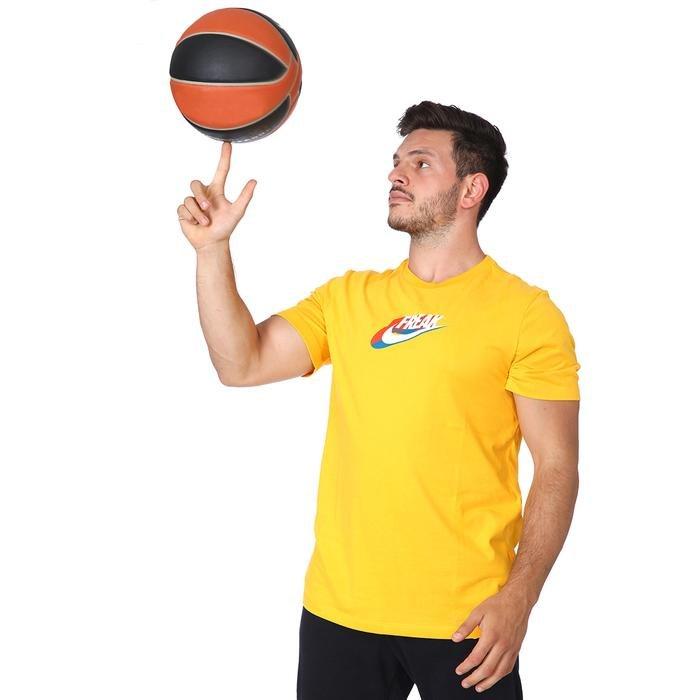 Ga M Nk Dry Tee Swoosh Freak 2 Erkek Sarı Basketbol Tişört CV1095-739 1212100