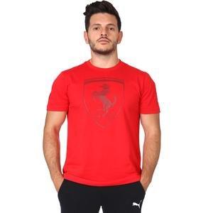 Ferrari Big Shield Erkek Kırmızı Tişört 59540802